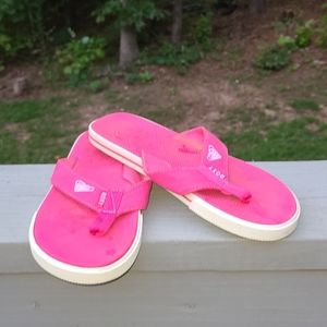 Roxy Hot pink sandals